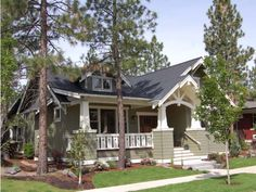 This charming Craftsman design makes the most of every square foot with its open layout.