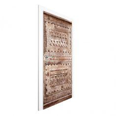 #Vliestapete Tür - #Alte verzierte marokkanische #Holztür in Essaouria - Türtapete #Türtapeten #selbstklebend #Türtapete #Türposter #Türbild #Türfolie # neueTürenÖffen