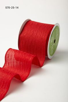 "Type Christmas Ribbons 2 to 2.5"" Wide Gloss Glitter Wire Burlap 3 Yd//Pk Select"