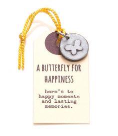 Kutuu bedel - a butterfly for happiness - Kekootje.nl