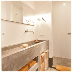 Badkamers beton