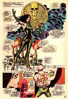 There's a theory that the comics you love are those ranging from ten years before you started reading them up to ten years afterwards. Should that be the case, you'll mostly find things here from the sixties and seventies. Comic Book Artists, Comic Artist, Comic Books Art, Marvel Comics Superheroes, Sci Fi Comics, Marvel Art, Nick Fury, Marvel Comic Universe, Comics Universe