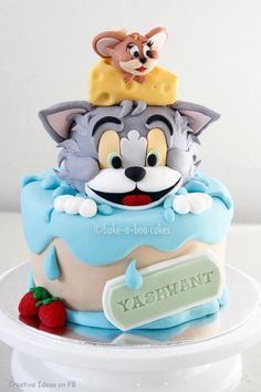 gateau pate a sucre tom et jerry