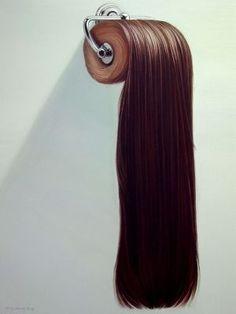 The hair of Hong Chun Zhang