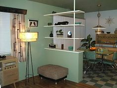 Livin' The 50's Life: Suddenly, it's 1956! The Dining Room