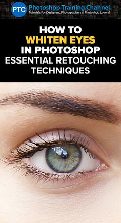 In this tutorial, you will learn how to whiten eyes in Photoshop using effective non-destructive techniques.