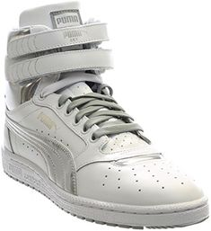 b9fdb0411f6 New something   First introduced in this classic PUMA basketball shoe  features a full-grain leather upper and velcro closure strap for optimum  fit.