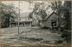 Stone house, E. Main St.