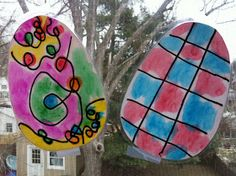 """Play Eat Grow: Play: """"Stained Glass"""" Easter Eggs"""