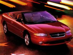 Chrysler Stratus Convertible (JX) '1995–98