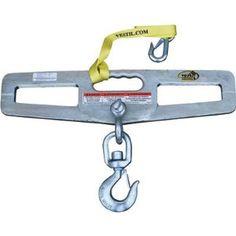 Vestil Forklift Double-Fork Hook Plate - 4000-Lb. Capacity, Model# LM-HP4-S by Vestil. $139.99. The Vestil forklift double-fork hook plate helps you lift loads using chains, cables or ropes. Fork openings are 6 1/2in. x 1 3/4in. Hook plate measures 24in. W x 6in. H. Load Capacity (lbs.): 4,000, Fork Openings W x H (in.): 6 1/4 x 1 3/4