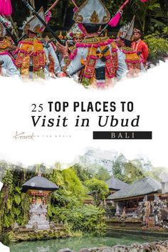 Ubud in Indonesia is THE place for a spiritual journey and updating your yoga practices in Bali. However, there are tons of other things to do in Ubud and here are a few. Solo Travel, Asia Travel, Ubud Palace, Bali Waterfalls, Stuff To Do, Things To Do, Bali Yoga, Top Place, Relaxing Day