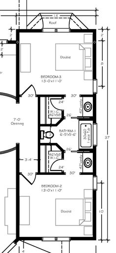 10 best jack and jill bathroom floor plans images - Jack and jill bathroom plans ...