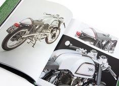 A highly visual survey of 1960s British sub-culture inspired motorcycle designs