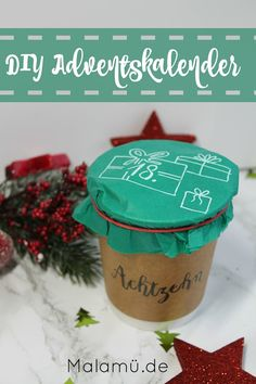 DIY Adventskalender - schnell & easy