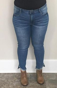 32bc7fe40eb 16 Best Plus Size Women s Denim images in 2019