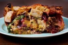 This packed, layered casserole makes the most of Thanksgiving turkey leftovers, with sweet, salty and hot elements playing off each other.