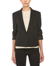 THE KOOPLES The Kooples Studded Wool-Blend Jacket'. #thekooples #cloth #jackets