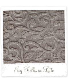 Ivy Trellis Luxe in Latte from design revolution