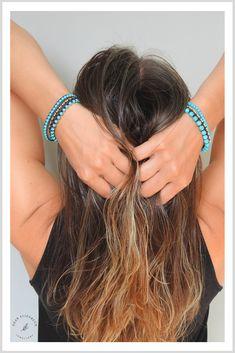 Handmade Gemstone Jewelry with a Light Touch of Boho by DearElizabethJewelry Stacking Bracelets, Beaded Wrap Bracelets, Layered Bracelets, Link Bracelets, Handmade Jewellery, Boho Jewelry, Jewelry Shop, Gemstone Jewelry, Jewelry Gifts