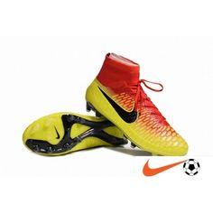 Nike Magista - European Football Championship Nike Magista Obra FG  Crimson Zwart Bright Citrus Voetbalschoenen 888ea5c926868