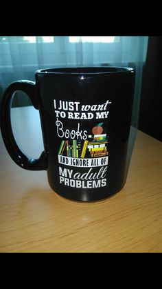That's describes me perfectly! I just want to read & ignore all of my adult responsibilities & problems!