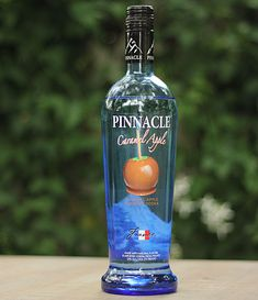 1 part Pinnacle Caramel Apple Vodka 1 part lemon-lime soda 1 part apple juice Dark brown sugar, for rimming glass ...