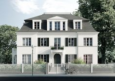 Dahlem Duo Berlin apartment house Source by ruedigersalat Architecture Classique, Neoclassical Architecture, Facade Design, Exterior Design, German Houses, Berlin Apartment, Modern Mansion, Mansions Homes, Facade House