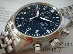 IWC Pilot's Spitfire Chronograph Automatic Ref. IW3717-01