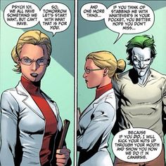 dr. harleen quinzel - before she was harley quinn