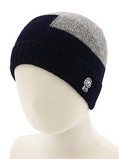 SPLURGE: Talk about luxe! Crafted from a soft wool blend, Little Marc Jacobs' two-tone Juego Hat ($50) will keep your tyke's head stylishly warm all winter long.