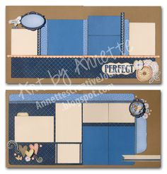 Awesome Pemberley layouts by Annette Green!