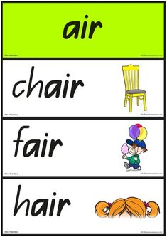 Phonics Resources - printable phonic sounds charts, printable phonics games, activities and word cards. Phonics Sounds Chart, Homophones Words, Phonics Games, Word Families, Teacher Resources, Kindergarten, Lettering, Teaching, Activities
