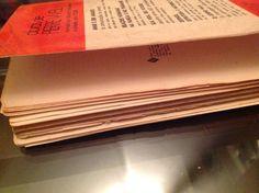 O Corpo Fala. Book restoration