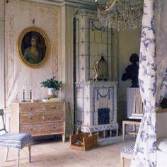 Gustavian room