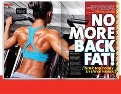 No more back fat!