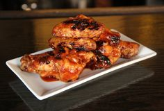 Espresso BBQ Hot Wings - Eat - Midtown Village - Thrillist Philadelphia Step One  Set your starting lineup: 1lb chicken wings, 3cups ketchup, 1cup espresso, 1/2cup molasses, 1/2cup soy sauce, plus 1tbsp Worcestershire sauce, 1tsp chili powder, and salt and pepper to taste.