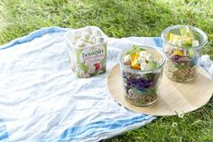 Créatifs avec Boursin ® Midi, Frittata, Quinoa Salad, Cucumber, Cheese