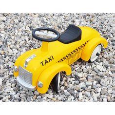 Gåbil i metal TAXA / Ride-on-vehicle TAXI Magni - ImageToys
