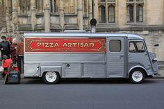 Citroen H Van Pizza Shop