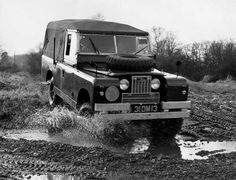 Rough terrain: The Rover Series IIA 109in Military was built for battle. They were used by the British Army as well as the Australian and New Zealand Military in the 1970s