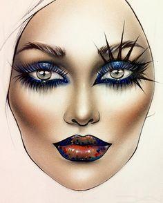 "4,785 Likes, 24 Comments - Sergey X (@milk1422) on Instagram: ""#artist@milk1412 #mylove #myart #myartistcommunity #myartistcommunityrussia #makeup #makeupart…"""