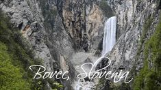 Boka waterfall. A must see when in Bovec. Slovenia.