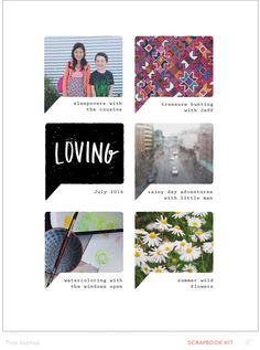 Loving *digital only* by lifelovepaper at @studio_calico