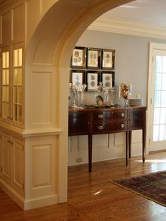 Traditional Dining Room Blue Wall Design, Pictures, Remodel, Decor and Ideas - page 4