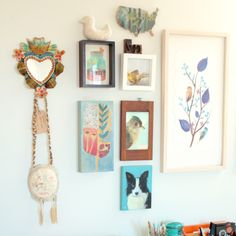 I think every house deserves at least one crazy busy wall.