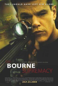 The Bourne Supremacy 27x40 Movie Poster (2004)