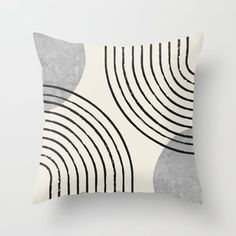 Grey Throw Pillows, Throw Cushions, Couch Pillows, Designer Throw Pillows, Accent Pillows, Grey Couches, Modern Couch, Decorative Pillow Cases, Mid Century Style