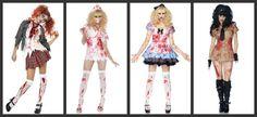 zombie school girl | Zombie School Girl / Bloody Nurse / Undead Alice / Officer Armbiter