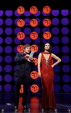 Jarrod Spector & Teal Wicks in 'The Cher Show' on Broadway. Neil Simon Theatre, The Cher Show, The Music Man, Little Shop Of Horrors, New York City Travel, And Peggy, Dear Evan Hansen, Bob Mackie, Show Photos